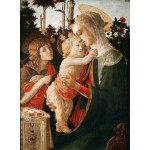 Puzzle  Grafika-01287 Sandro Botticelli: Virgin and Child with Young St John the Baptist, 1470-1475