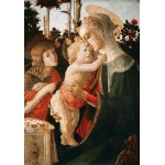 Puzzle  Grafika-01288 Sandro Botticelli: Virgin and Child with Young St John the Baptist, 1470-1475