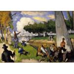 Puzzle  Grafika-01291 Paul Cézanne: The Fishermen (Fantastic Scene), 1875