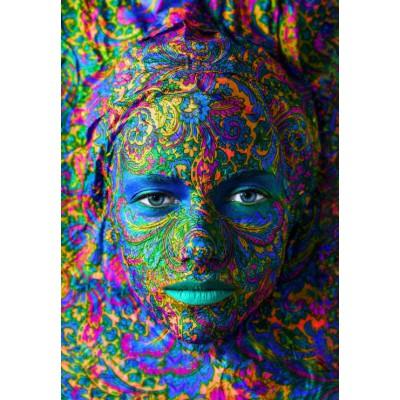 Puzzle Grafika-01299 Face Art: Portrait of woman