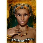 Puzzle  Grafika-01302 African Woman