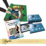Grafika-01324 Accessory Set - Confirmed - Jigsaw Roll Up Mat 300 to 2000 pieces, Glue for 2000 Pieces, 6 Sorting B