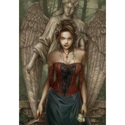 Puzzle Grafika-01375 Queen of Ghouls