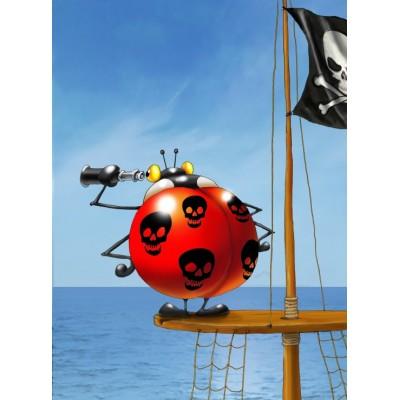 Puzzle Grafika-01436 François Ruyer: Pirate