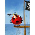 Puzzle  Grafika-01437 François Ruyer: Pirate
