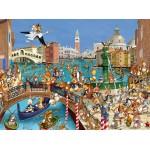 Puzzle  Grafika-01442 François Ruyer: Venice