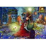 Puzzle  Grafika-01451 François Ruyer: Witch