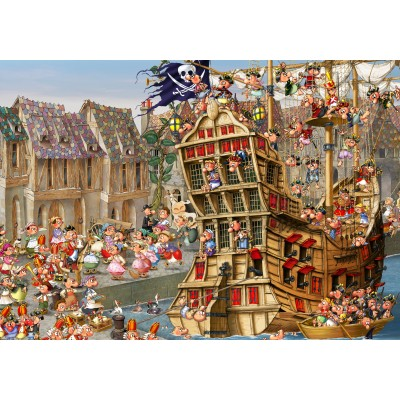 Puzzle Grafika-01457 François Ruyer: Pirates