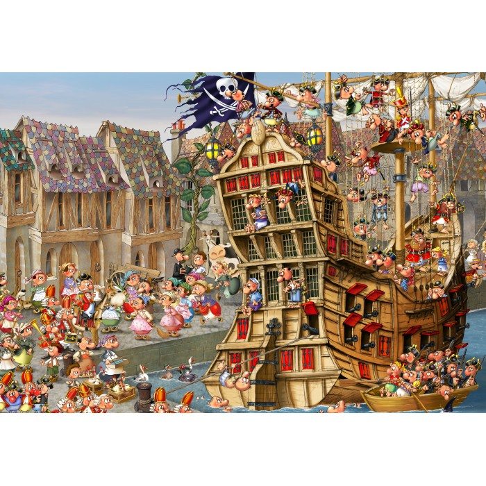 François Ruyer: Pirates