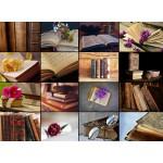 Puzzle  Grafika-01476 Collage - Books