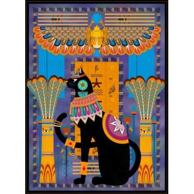 Puzzle Grafika-01495 Egyptian Cat