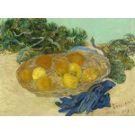 Puzzle  Grafika-01518 Vincent Van Gogh - Still Life of Oranges and Lemons with Blue Gloves, 1889