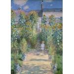 Puzzle  Grafika-01531 Claude Monet - The Artist's Garden at Vétheuil, 1880