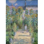 Puzzle  Grafika-01532 Claude Monet - The Artist's Garden at Vétheuil, 1880