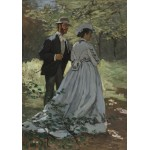 Puzzle  Grafika-01534 Claude Monet - Bazille and Camille, 1865