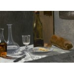 Puzzle  Grafika-01540 Claude Monet - Still Life with Bottle, Carafe, Bread, and Wine, 1863