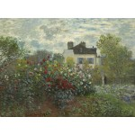 Puzzle  Grafika-01542 Claude Monet - The Artist's Garden in Argenteuil, 1873
