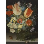 Puzzle  Grafika-01581 Peter Binoit: Still Life with Tulips, 1623