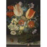 Puzzle  Grafika-01583 Peter Binoit: Still Life with Tulips, 1623