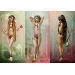 Puzzle  Grafika-01646 The 3 Muses