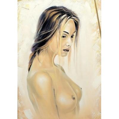 Puzzle Grafika-01671 Beautiful naked Girl