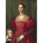 Puzzle  Grafika-01702 Agnolo Bronzino: A Young Woman and Her Little Boy, 1540
