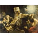 Puzzle  Grafika-01734 Rembrandt - Belshassar's Feast, 1636-1638