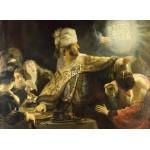Puzzle  Grafika-01736 Rembrandt - Belshassar's Feast, 1636-1638