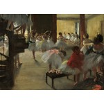 Puzzle  Grafika-01759 Edgar Degas: The Dance Class, 1873
