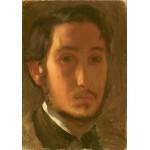 Puzzle  Grafika-01766 Edgar Degas: Self-Portrait with White Collar, 1857