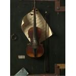 Puzzle  Grafika-01773 William Michael Harnett: The Old Violin, 1886