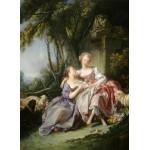 Puzzle  Grafika-01792 François Boucher : The Love Letter, 1750