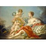 Puzzle  Grafika-01798 François Boucher: Allegory of Music, 1764