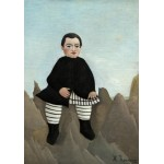Puzzle  Grafika-01799 Henri Rousseau : Boy on the Rocks, 1895/1897