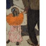 Puzzle  Grafika-01811 Edouard Vuillard: Child Wearing a Red Scarf, 1891