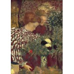 Puzzle  Grafika-01819 Edouard Vuillard: Woman in a Striped Dress, 1895
