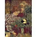 Puzzle  Grafika-01820 Edouard Vuillard: Woman in a Striped Dress, 1895