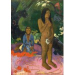 Puzzle  Grafika-01828 Paul Gauguin: Parau na te Varua ino (Words of the Devil), 1892