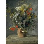 Puzzle  Grafika-01873 Auguste Renoir : Flowers in a Vase, 1866