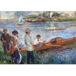 Puzzle  Grafika-01907 Auguste Renoir: Oarsmen at Chatou, 1879