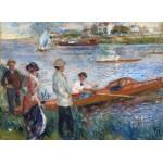 Puzzle  Grafika-01908 Auguste Renoir: Oarsmen at Chatou, 1879