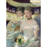 Puzzle  Grafika-01931 Mary Cassatt: The Loge, 1882