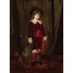 Puzzle  Grafika-01940 Mary Cassatt: Eddy Cassatt (Edward Buchanan Cassatt), 1875