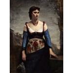 Puzzle  Grafika-01979 Jean-Baptiste-Camille Corot : Agostina, 1866