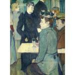 Puzzle  Grafika-01988 Henri de Toulouse-Lautrec: A Corner of the Moulin de la Galette, 1892