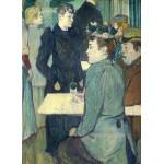 Puzzle  Grafika-01990 Henri de Toulouse-Lautrec: A Corner of the Moulin de la Galette, 1892