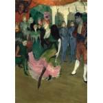 Puzzle  Grafika-01995 Henri de Toulouse-Lautrec: Marcelle Lender Dancing the Bolero in