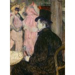 Puzzle  Grafika-02000 Henri de Toulouse-Lautrec: Maxime Dethomas, 1896