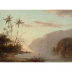 Puzzle  Grafika-02015 Camille Pissarro: Creek in St. Thomas, Virgin Islands, 1856