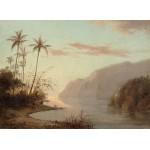 Puzzle  Grafika-02017 Camille Pissarro: Creek in St. Thomas, Virgin Islands, 1856